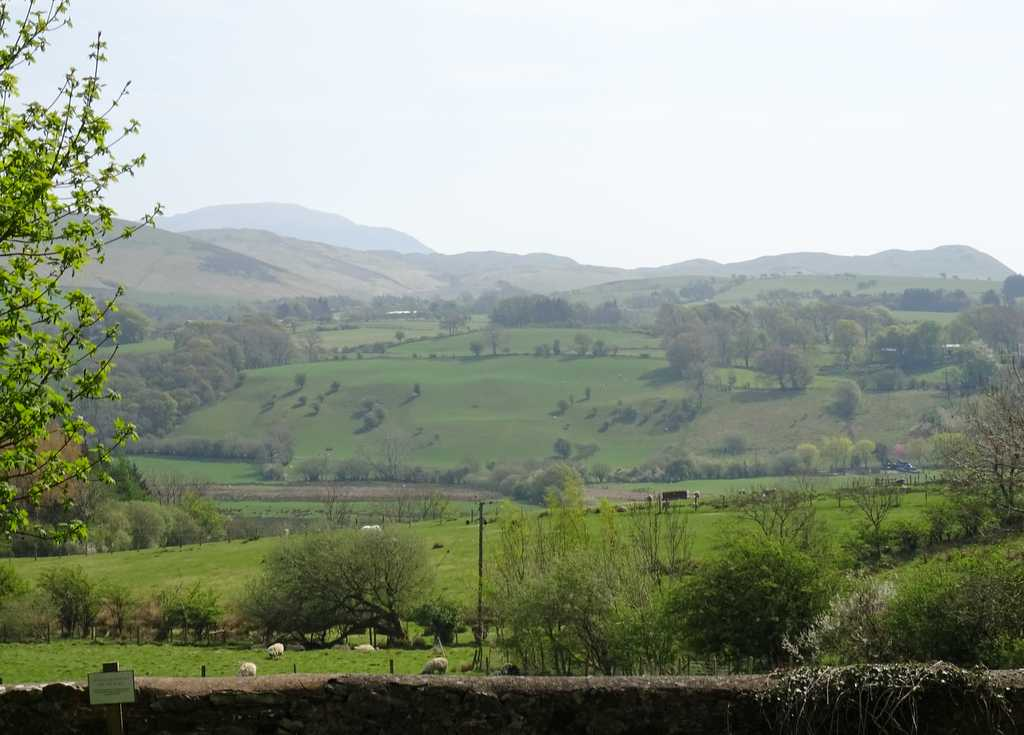 View SE to the North Lakes fells