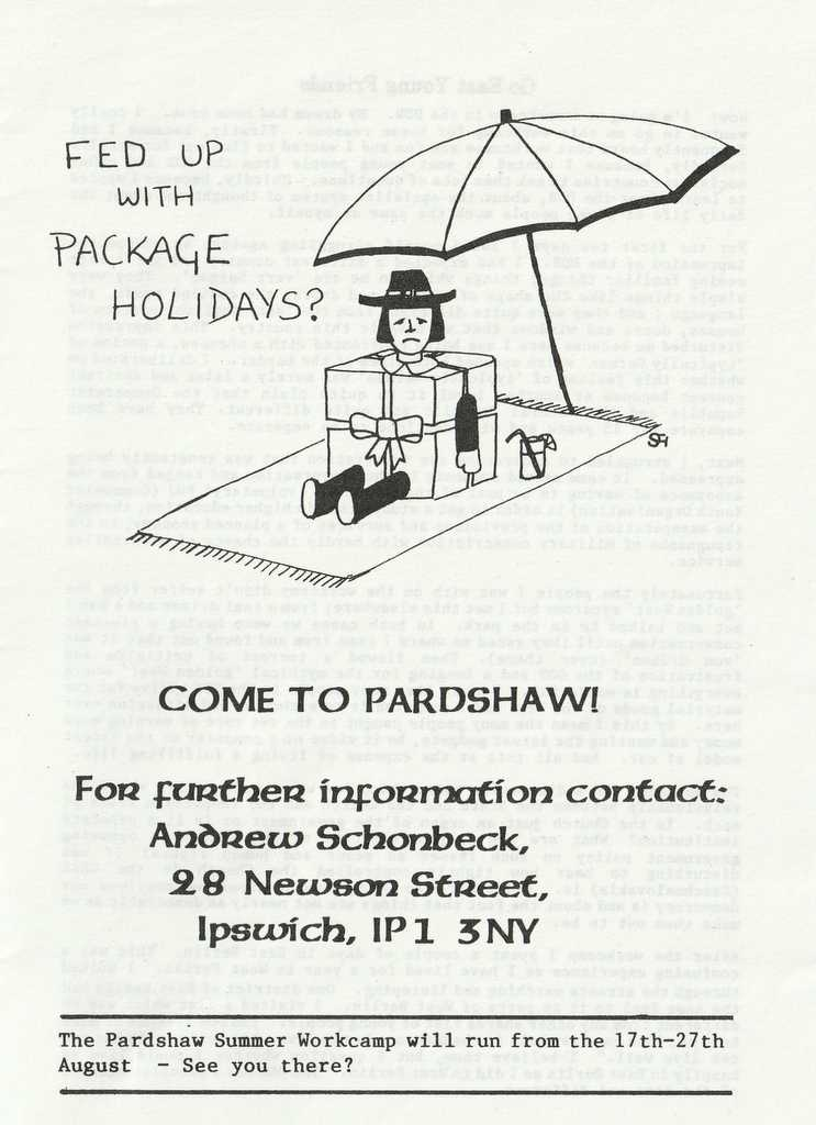 Young Quakers Advert 11 June 1985