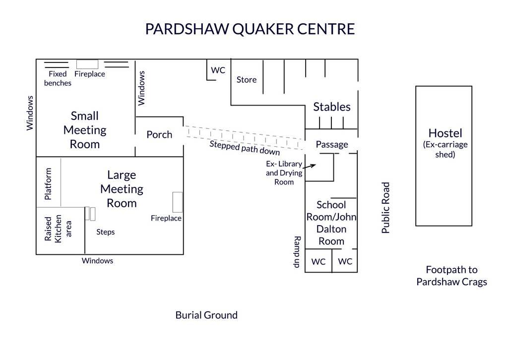 Pardshaw Quaker Centre plan